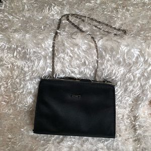 Guess Small Black Clutch Purse